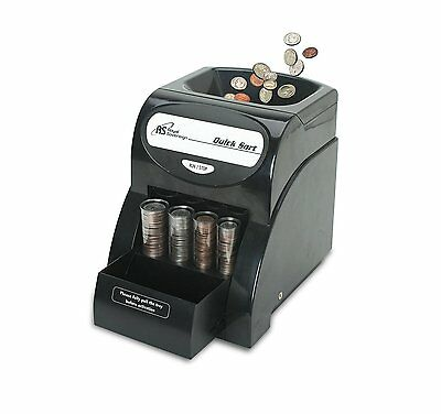 Brand New Royal Sovereign QS-1AC Electric 1 Row Coin Sorter 156 Coins / Minute