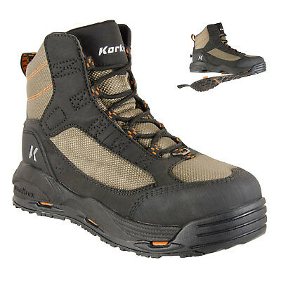 Korkers Greenback Fly Fishing Wading Boots with Convertible Outsoles