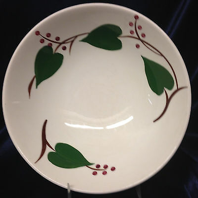 Blue Ridge Southern Pottery Canonsburg Stanhome Round Vegetable Bowl 8 7/8""