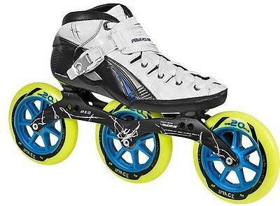 Powerslide Double X, 125mm race skates sizes 7 1/2 - 11