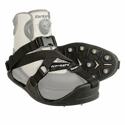 Korkers CastTrax Fly Fishing Cleated Overshoes with 36 Carbide Spikes