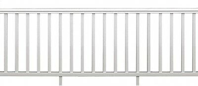 Traditional Rail Kit 8 ft. x 36 in. White Durable Low Maintenance Vinyl