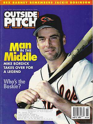 "May 2, 1997 Baltimore Orioles ""inside Pitch"" Baseball Magazine"