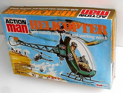 Vintage 1970 Palitoy Action Man ~ HELICOPTER ~ Boxed with Instruction ~ MIB MOC