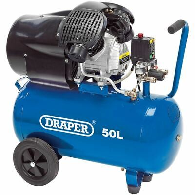 Draper 50l 230v 3.0hp 2.2kw Air Compressor 29355