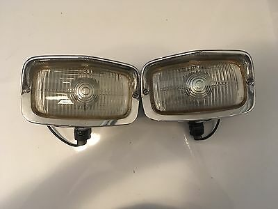 COMPLETE PAIR of SEV Marchal 653 (clear lens) lights for Ferrari, Shelby