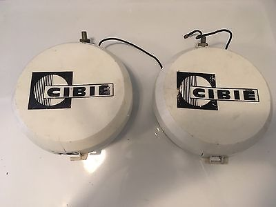 "Set of USED 6"" CIBIE OSCAR+  RALLY LIGHTS - (Porsche, Mercedes, Audi, etc.)"