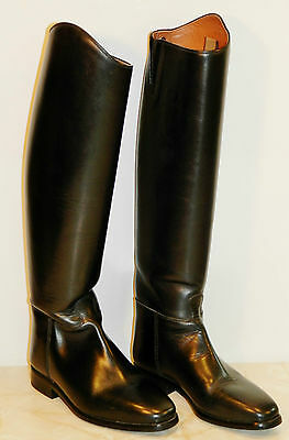 Ariat Long Leather Riding Boots - Size 5.5 (EU 39) - Fit H
