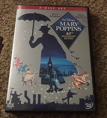 Mary Poppins 40th anniversary DVD MINT!!!!