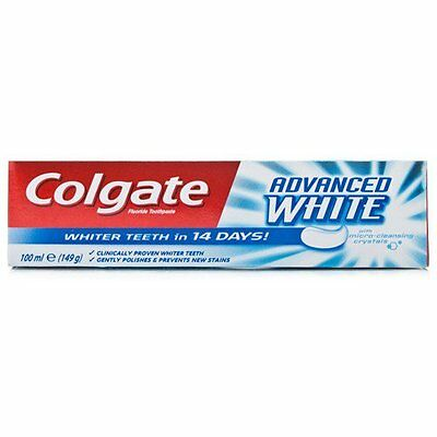 Colgate Advance Whitening Toothpaste 100ml - Whiter Teeth In 14 Days!