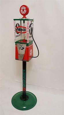 Texaco gas candy machine vintage gumball machine man cave game room gift
