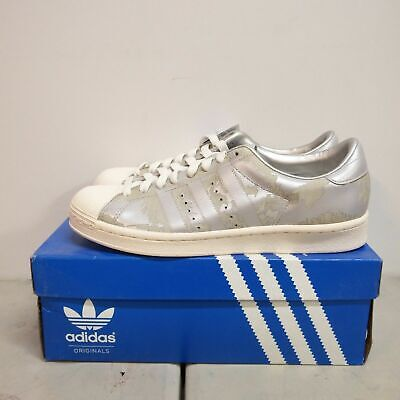 new style f512f 87a60 ADIDAS SUPERSTAR VIN Drawn Men Shoes Shelltoes Rare Limited Metallic G02785  7.5