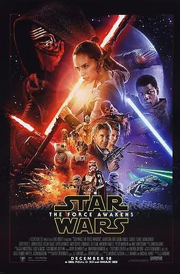 Reproduction Movie Poster - Star Wars Episode VII - The Force Awakens