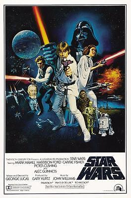 Reproduction Movie Poster - Star Wars Episode IV - A New Hope