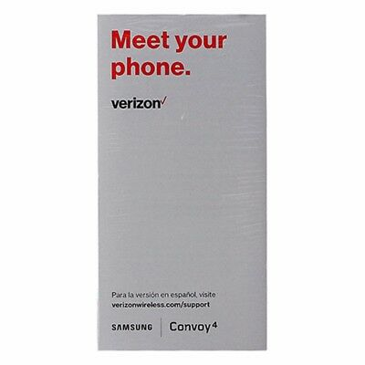 NEW Verizon Samsung Convoy 4 Manual / Consumer Info / Product Safety Info