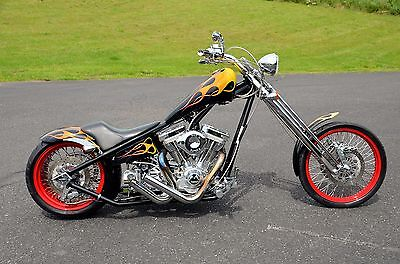 "2005 Custom Built Motorcycles Chopper  Vengeance Vertebreaker Springer 250 Tire 113"" S&S 6-speed Rigid Hardtail Chopper"