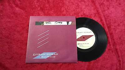 "Duran Duran hungry like the wolf UK 7"" vinyl single"