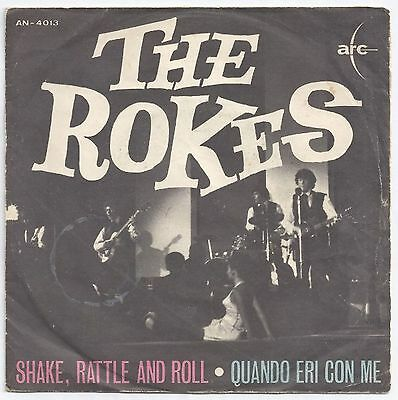 The Rokes Shake, Rattle And Roll / Quando Eri Con Me 7″ Arc (5), Arc (5) – AN...