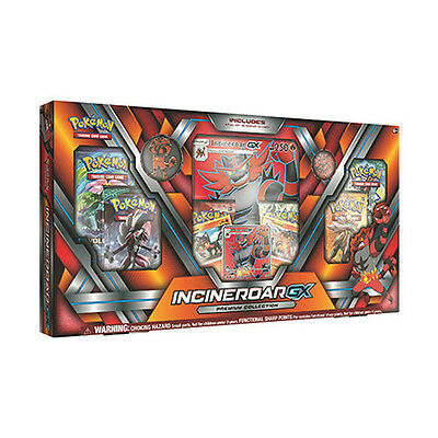 Pokemon TCG Incineroar GX Premium Collection