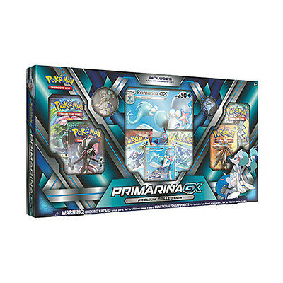 Pokemon TCG Primarina GX Premium Collection
