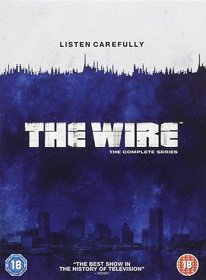 The Wire: Complete HBO Season 1-5 [DVD] New UNSEALED MINOR BOX WEAR