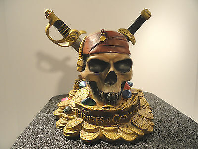 Pirates Of The Caribbean Skull & Daggers Coin Bank