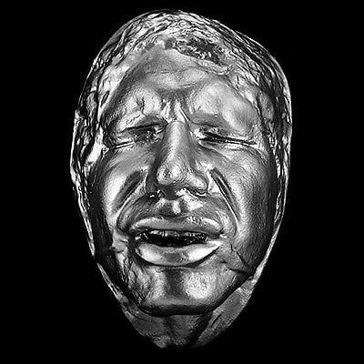 Han Solo Frozen in Carbonite Harrison Ford Life Cast Haunted Studios Life Mask