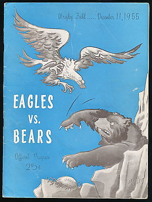 Chicago Bears Program Signed PADDY DRISCOL ATKINS GEORGE HILL 30 Autos HOF JSA