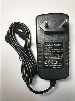 EU 9V 2A Mains AC-DC Switching Adaptor Power Supply Charger 4mmx1.7mm 4x1.7