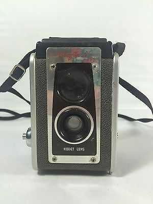 Vintage Kodak Duaflex IV Camera Kodet Lens Box Camera 620 Film USA