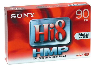SONY Hi8 Video Cassette Tape - P5-90HMP3 Metal Particle