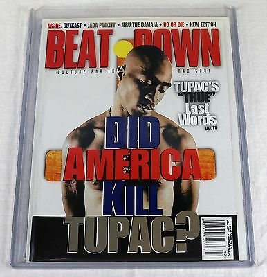 Beat Down Magazine May 1996 Tupac Shakur 2Pac Sean Combs Puff Daddy Interview NW