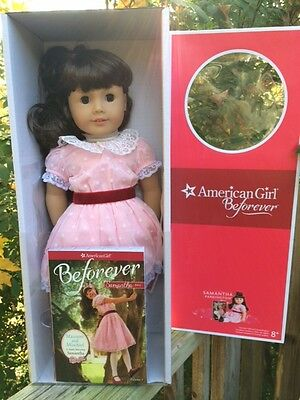 American Girl Samantha Doll and Book 18 inches NIB BeForever