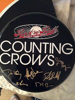 Counting Crows Signed Remo Drumhead