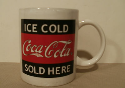 """Gibson """"Ice Cold Coca~Cola Sold Here"""" Collectible Coffee Mug Pre-Owned"""