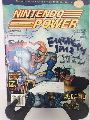 Nintendo Power Volume 83 Earthworm Jim 2 Cover Includes Poster