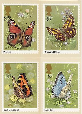 Post Cards United Kingdom PHQ Series 1981 28 Cards all different Mint