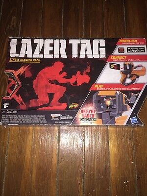 Nerf Lazer Tag Single Blaster Pack For iPhone Or iPod Touch - Brand New in Box
