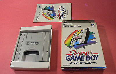 Super GameBoy (Nintendo Super Famicom SNES SFC, 1994) Japan Import
