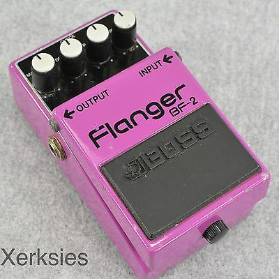 Boss BF-2 Flanger Guitar Effect Pedal BF2 BF 2 Stomp Box 5027