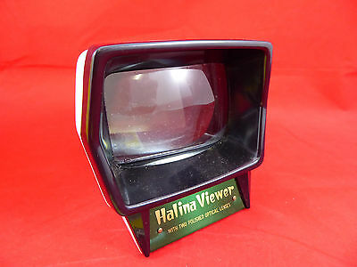 Vintage HALINA VIEWER With Fine Polished Optical Lens - For Colour Slides