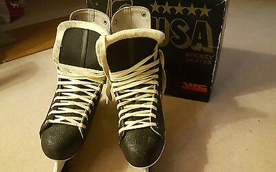 Ice hockey skates size 8