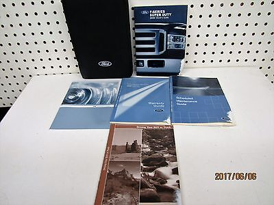 2006 Ford Super Duty F Series  Owners Manual Set    FREE SHIPPING