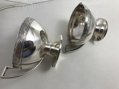 Gorham Sterling Silver Creamer and Sugar Bowl 278.4grams