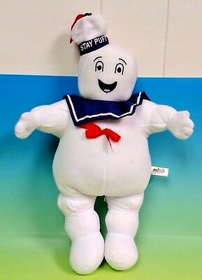 """Ghostbusters Stay Puft Marshmallow Man 11"""" Plush Toy Factory 2011 Rare Ghost"""
