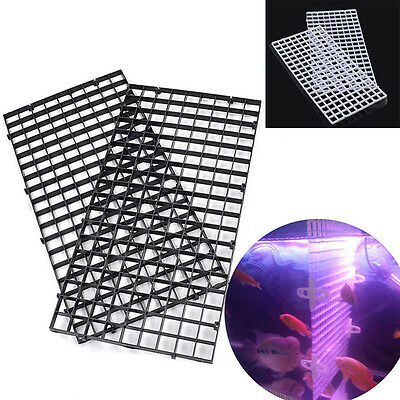 Grid Divider Tray Egg Crate Aquarium Fish Tank Filter Bottom Isolate New