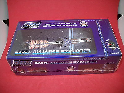 Babylon 5: Fleet Action: Earth Alliance Explorer box set: NIS