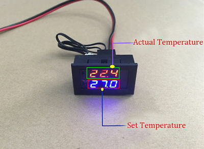 Thermostat Controller LED Digital  Switch Temperature Sensor