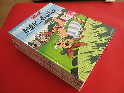 Lot 11 Bd Asterix Et Obelix, Tomes 3 5 6 9 11 17 20 21 31 33 & 34, Be / Tbe
