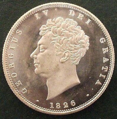 1826 Halfcrown, Copy, (FREE UK POSTAGE AVAILABLE)